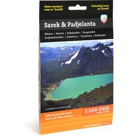 Calazo Sarek & Padjelanta 1:100 000